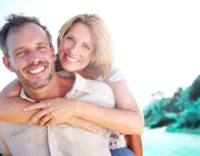 Couple Smile Dental Implants